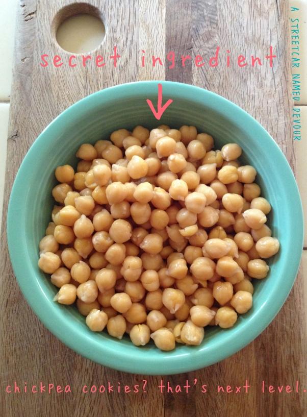 Secret Ingredient: Chickpeas!